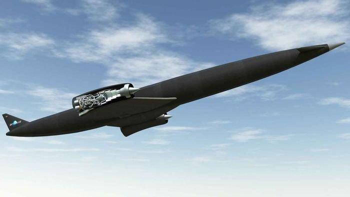 Самолёт на воздушно-реактивном двигателе Sabre.
