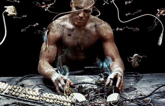 Компьютерный человек.