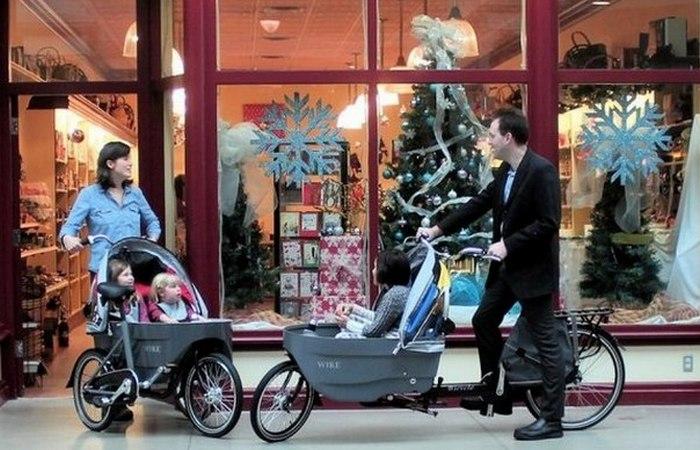 Семейный велосипед Salamander.