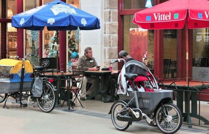 Велосипед и коляска Salamander.