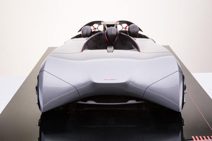 Saleen 3 Wheeler Concept: автомобиль, похожий на дельтаплан.