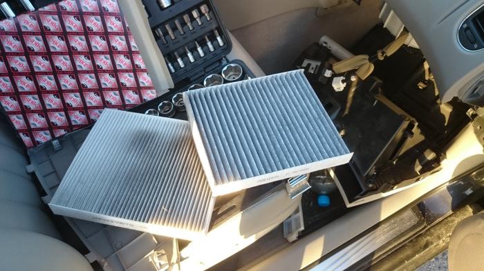 Только чистый фильтр обеспечит нормальный ток воздуха. |Фото: drive2.com.