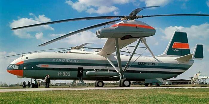 Самый большой вертолет в мире. |Фото: Яндекс.Коллекции.