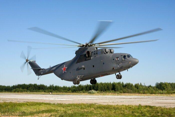 Самый большой современный вертолет. ¦Фото: Twitter.