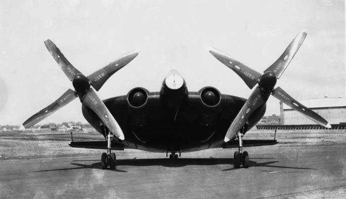 Летающая «лепешка»Vought XF5U.