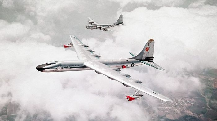 Convair NB-36H на атомном двигателе.