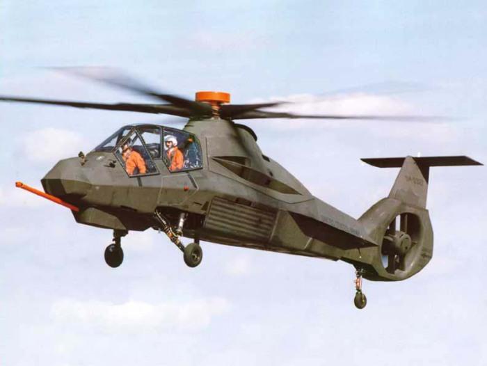Вертоліт RAH-66 Comanche.