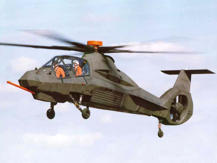 Вертолёт RAH-66 Comanche.
