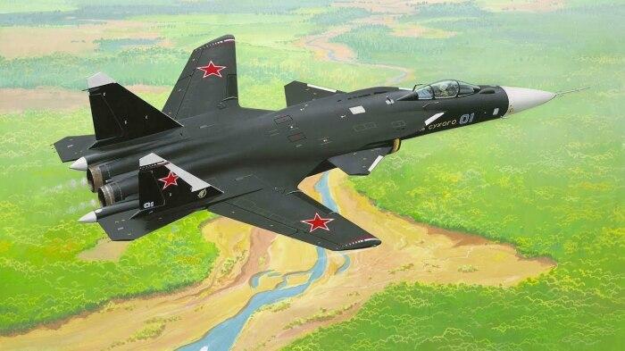 Начали делать самолет еще в СССР. |Фото: arms-expo.ru.