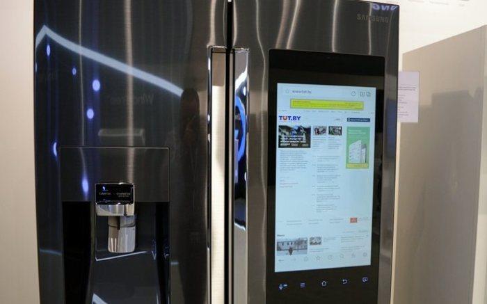 Холодильники с выходом в интернет.