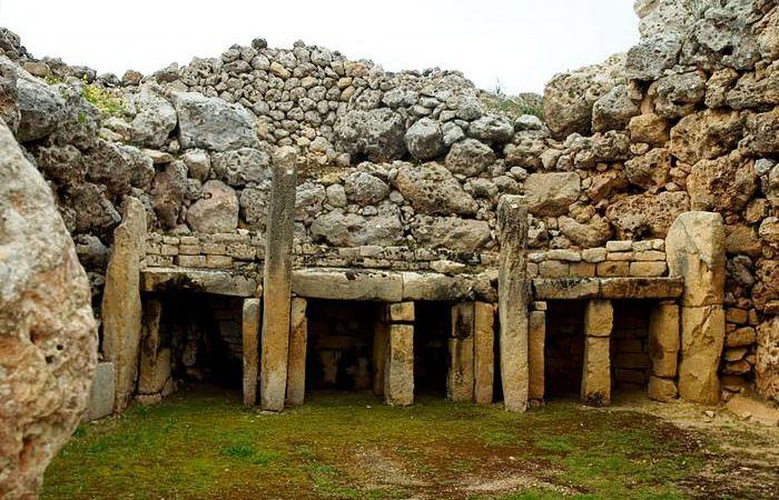 Древняя архитектура: храмы Джгантия.