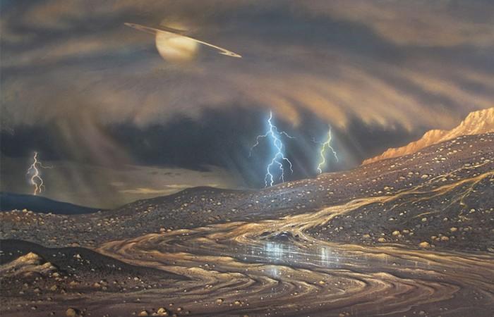 Через 5 - 6 млрд лет на Титане...