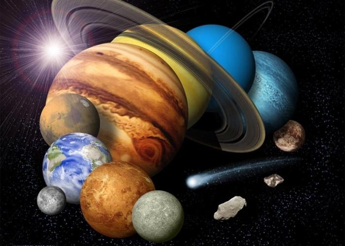Великолепие Солнечной системы.