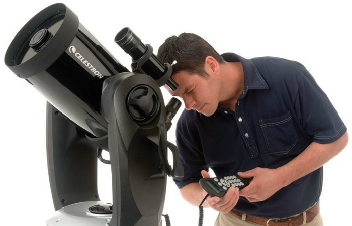 Современный телескоп.