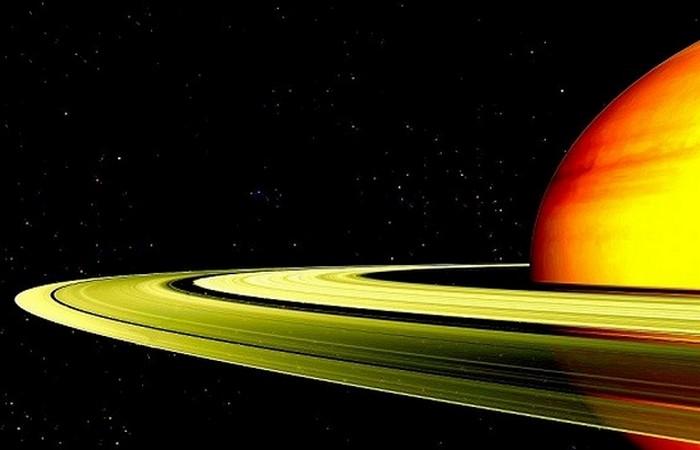 Скорость вращения Сатурн - 10 часов и 33 минуты.