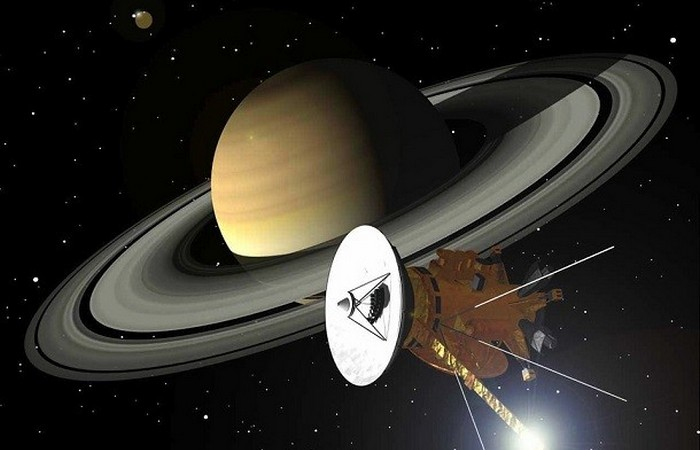 Межпланетная станция Кассини.