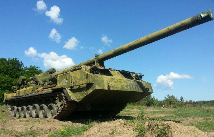 Советская ядерная пушка Пион.