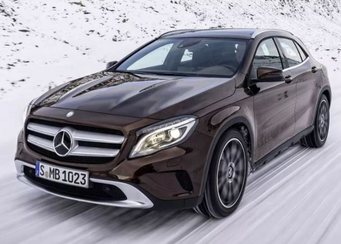 У Mercedes-Benz GLA сильные позиции.