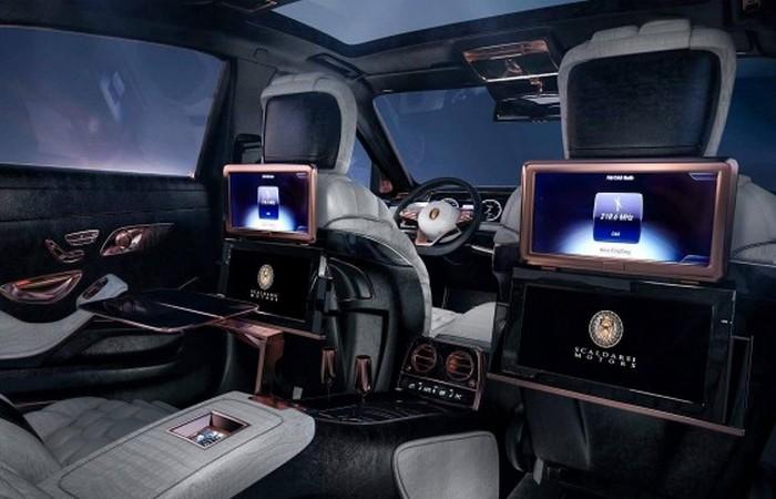 Богатый функционал передних сидений.