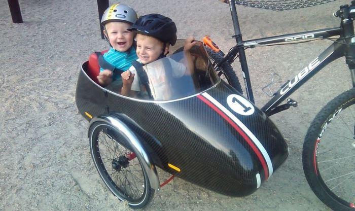 Коляска-сани Scandinavian Sidecar.