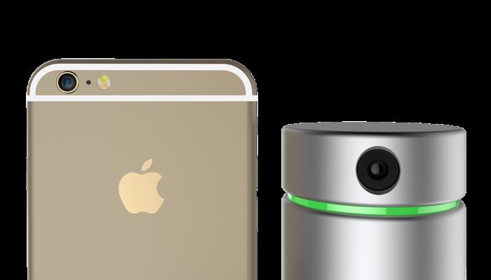 Работает Eora 3D только со смартфоном.