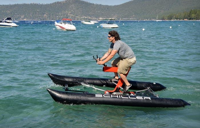 Водный велосипед Schiller X1.