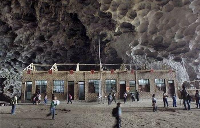Пещерная школа Дунчжун Мид.