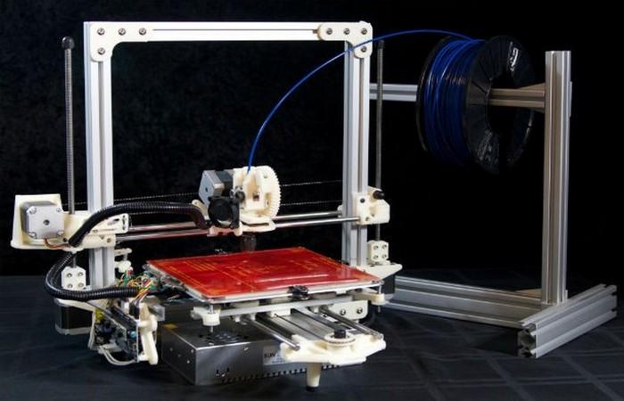 3-D принтер, создающий полноразмерный дом за один подход.