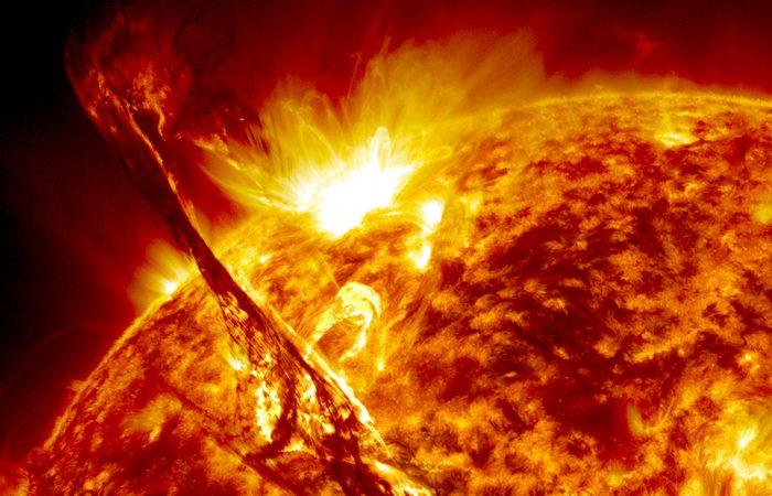 Торнадо на Солнце.