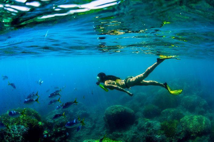 Дыхательное устройство «Scorkl» обеспечит до десяти минут пребывания под водой.