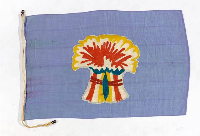 Флаг компании Sheaf Steam Shipping Co. Ltd из Ньюкасла.