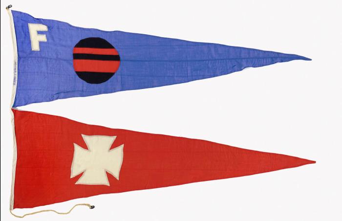 Флаг компании Furness Withy & Co. Ltd из Лондона.