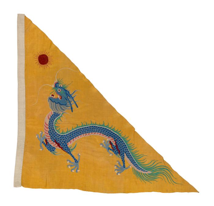 Флаг китайской судовладельческой компании.
