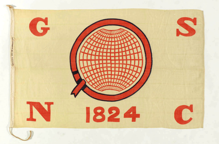 Флаг лондонской компании General Steam Navigation Co