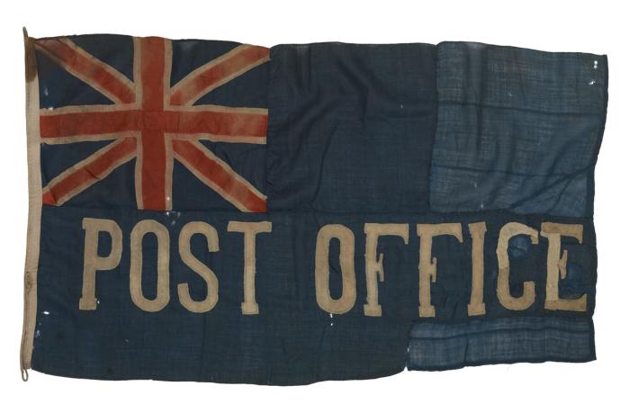 Флаг морской почты Великобритании.