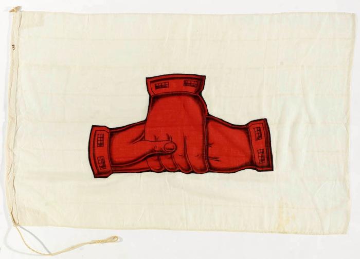 Флаг ливерпульского пароходства Larrinaga Steamship Co. Ltd.