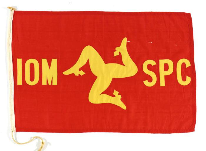 Флаг Isle of Man Steam Packet Co. Ltd.