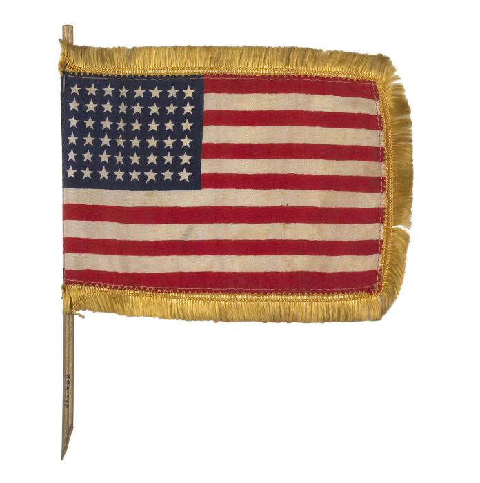 Национальный флаг США.