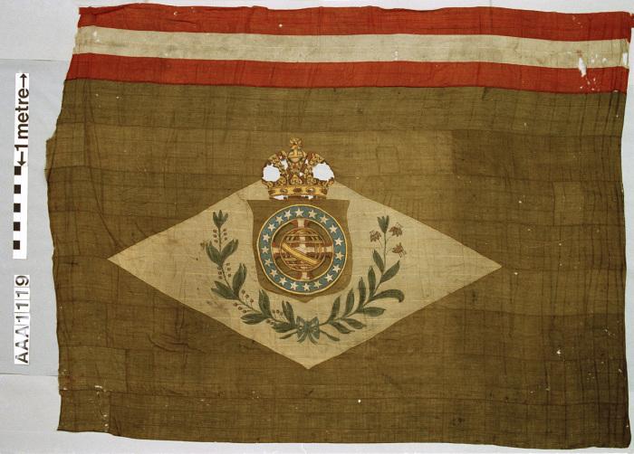 Национальный флаг Бразилии.