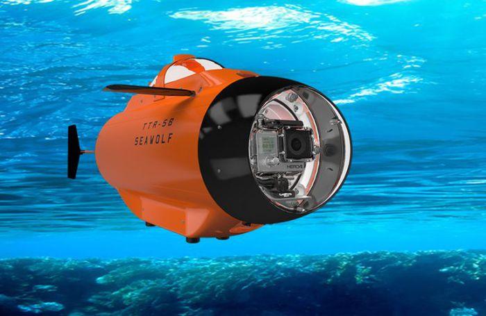 Человеку увидеть подводный мир