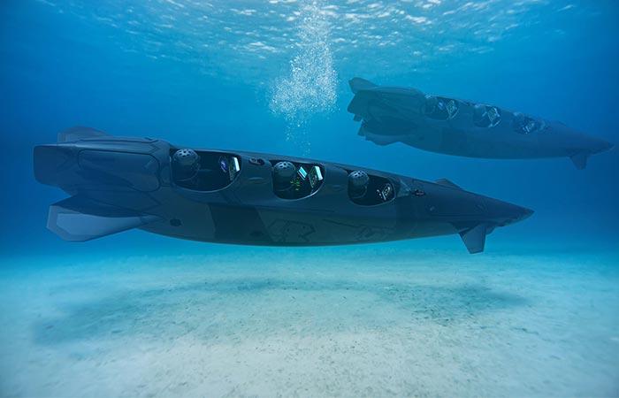 Модели Ortega Submersibles Mk.1B и Mk.1C..