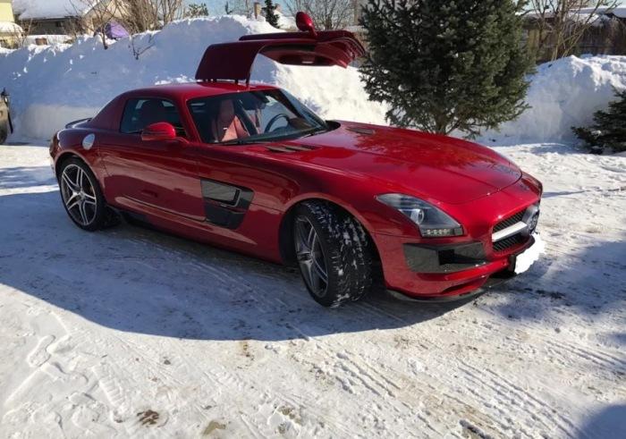 Помните такого красавца, как Mercedes SLS AMG?