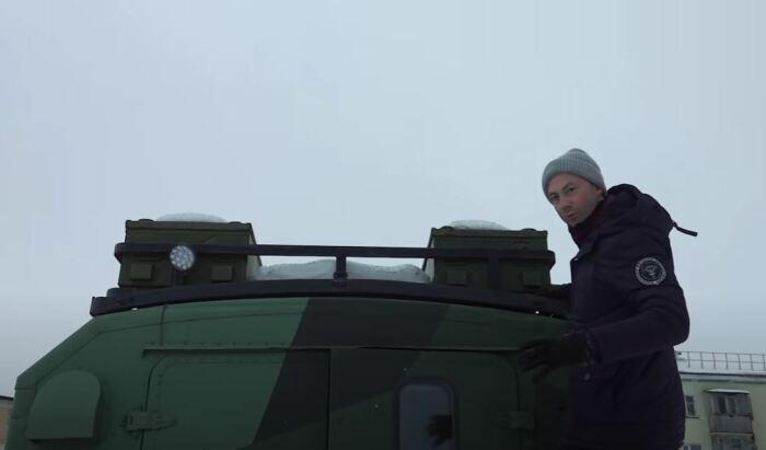 Поставили больший багажник. ¦Фото: youtube.com.