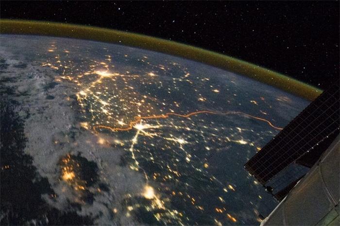 Граница между Индией и Пакистаном.