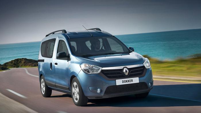 Renault Dokker отлично подойдет для семейных поездок.