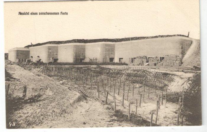 Старинное фото форта.