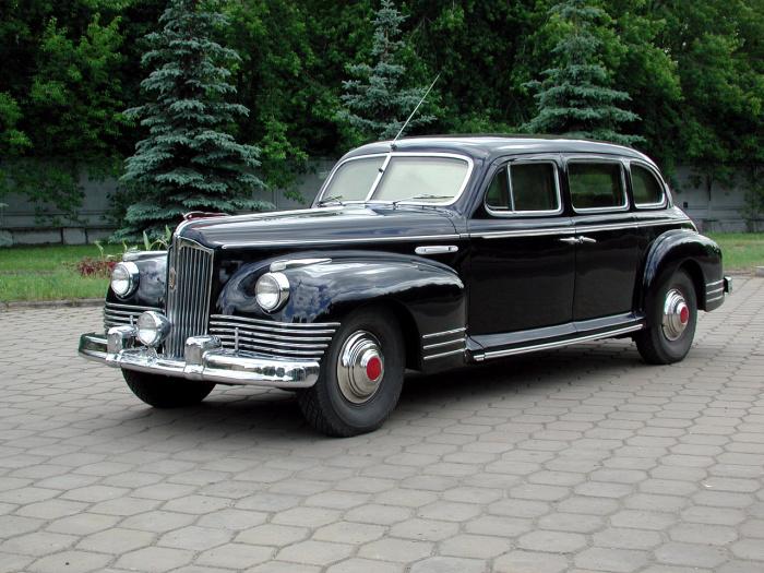 Лимузин КГБ с невероятной броней.