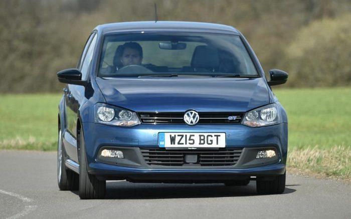 Автомобиль Volkswagen Polo.