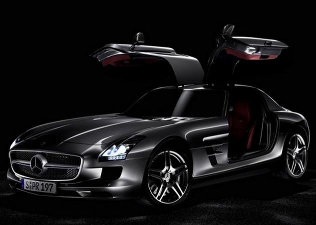 Mercedes-Benz SLS AMG Black Series.
