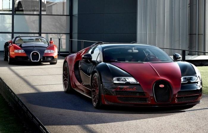 Суперкар Bugatti Veyron 16.4 Grand Sport Vitesse La Finale.